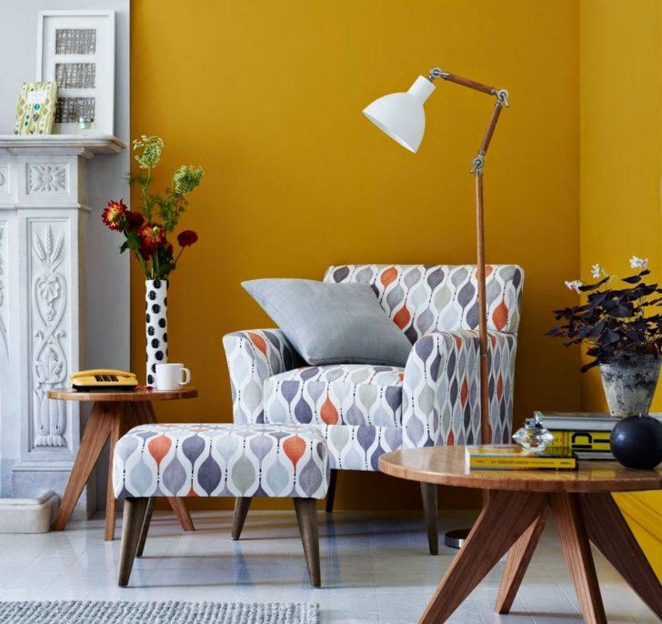 color mostaza para las paredes
