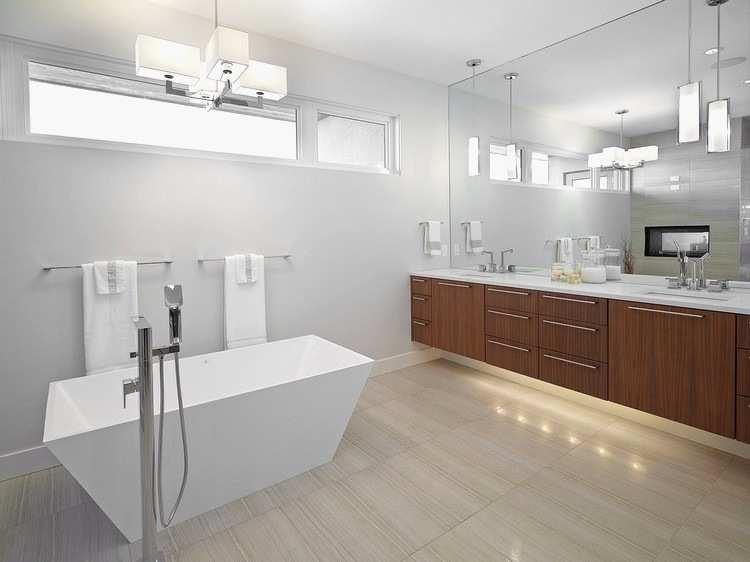 luz para baños modernos