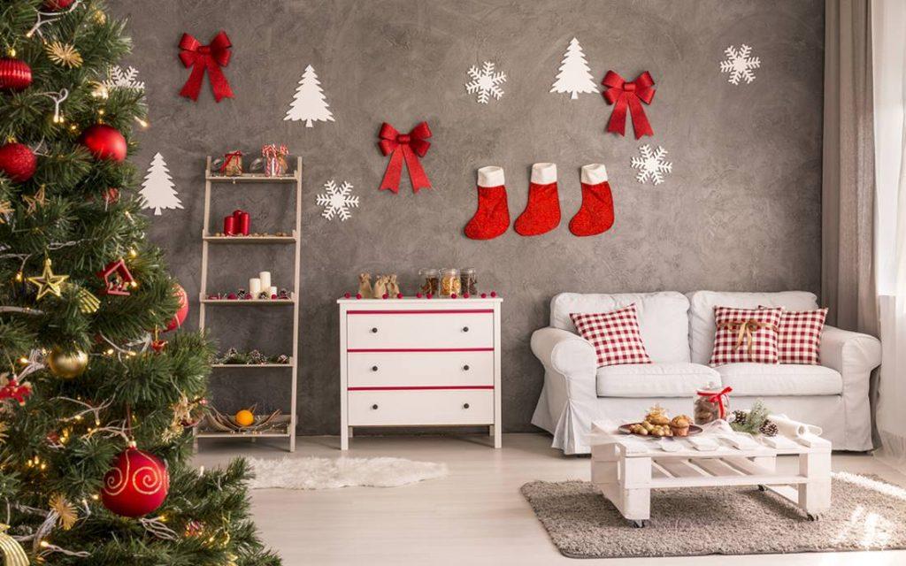 como decorar tu departamento en navidad ejemplo